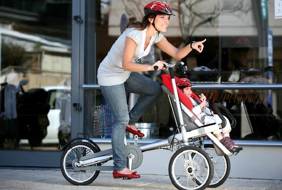 porte-bébé avant vélo